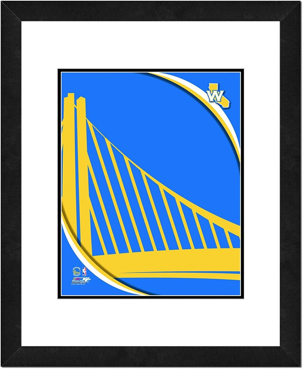 NBA Team Logo Large-scale sale Max 75% OFF Double Framed Matted Photo