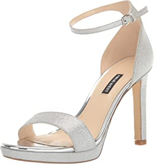 NINE WEST Women's Edyn3 Heeled Sandal