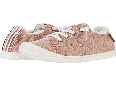 Roxy Bayshore Faux-Fur Lined Shoes (Rust) Women