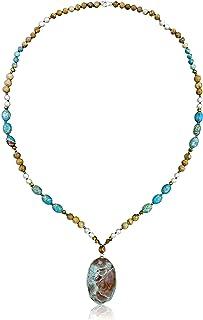 Minimalist elegant jasper gemstone necklacechokerjasper necklaceminimalistelegant necklacegemstone necklace chokerPicasso Jasper
