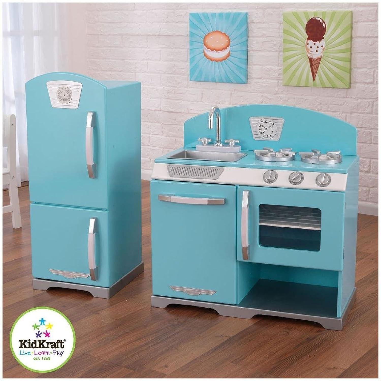 KidKraft 2Piece Retro Kitchen, bluee