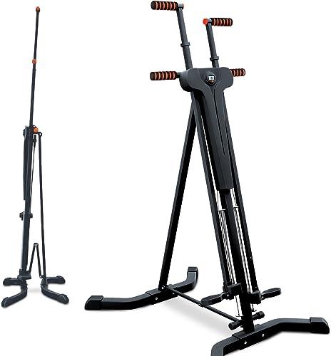 Sportstech Innovador Stepper & Escalador Vertical 2en1 - Ejercicio con Movimientos de Escalada, Plegable, VC300 con d...