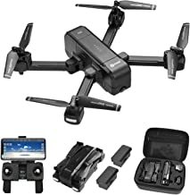$155 » Contixo F22 Plus Foldable GPS 1080P Camera Photography Drone | Selfie, Gesture, Follow Me, Gimbal RC WiFi FPV Quadcopter Beginners Drone with Camera 40 Minutes Flying Time 2 Batteries BlackFriday Deal