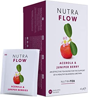 NUTRAFLOW - UTI Tea | Thrush Tea – Includes Horsetail, Yarrow & Goldenseal - Eases Discomfort Within The Urinary Tract & K...