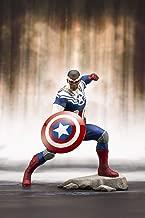 Kotobukiya Marvel Universe: Captain America Sam Wilson Artfx+ Statue