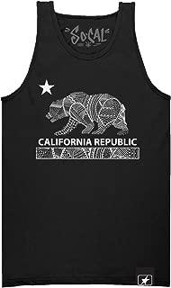 So Cal California Republic Men's Drawling Tank Top