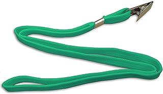 علاقة كروت شخصية بمشبك، علبة عبوة 50 حبة، لون أخضر من بايندرماكس ST-803
