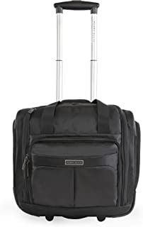Men's Excess 9-Pocket Underseat Rolling Tote Carry-on...