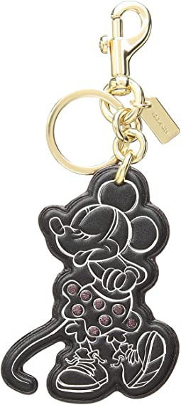 Boxed Minnie Mouse Pose Bag Charm ©Disney x COACH