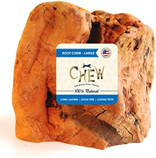 Root Chew - CHEW Premium Dog Treats - 100% Organic All Natural Dog Chew
