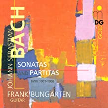 Bach Sonatas Suites Arranged For Guitar