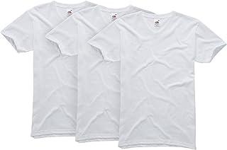 Fruit of the Loom Men's Original V-Neck T-Shirt 3-Pack