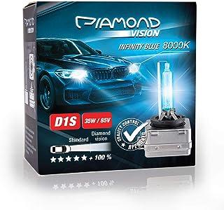 2x D1S 35W 85V 8000K Diamond Vision HID Bi Xenon Brenner Whitevision White Weiß Super Extrem Hell Laser Kit Nightbreaker Extreme Vision Ultra Blue Hyper Duobox Gasentladungslampe PK32d 2