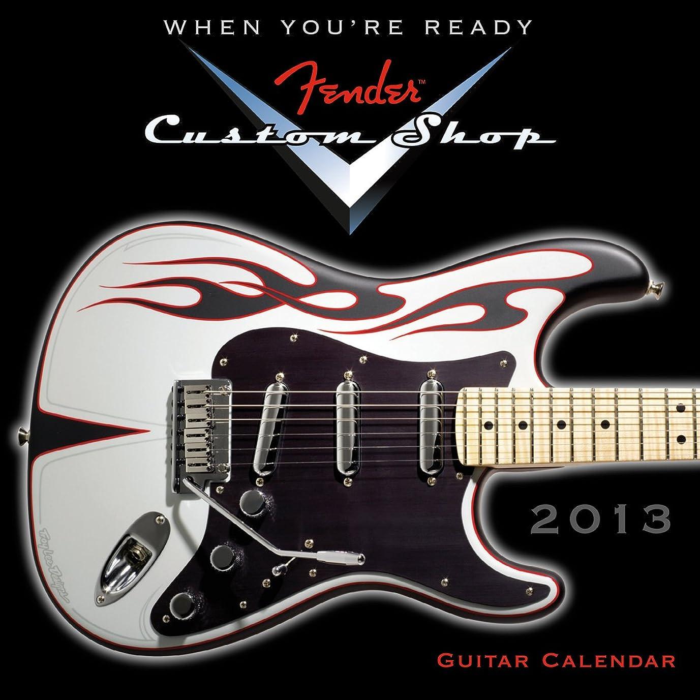 任命する放置敬なFender(TM) Custom Shop Guitar 2013 Mini (calendar) (Wall Calendar)