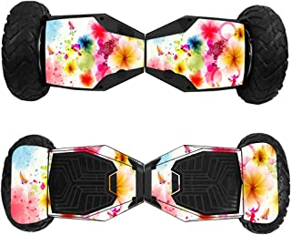 MightySkins Skin Compatible with Swagtron T6 Off-Road Hoverboard - Pollinate | Protective, Durable, and Unique Vinyl Decal wrap Cover | Easy to Apply, Remove, and Change Styles | Made in The USA