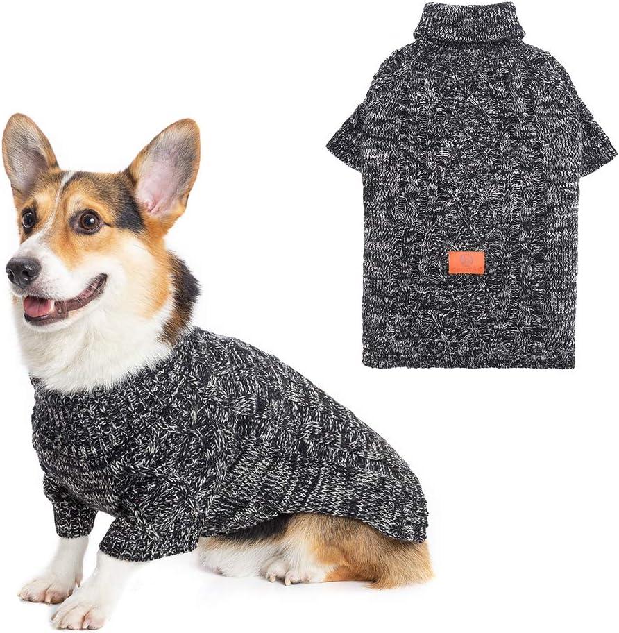 KOOLTAIL Las Vegas Mall Dog Winter Clothes Ranking TOP7 - Sweater Turtleneck Fleece