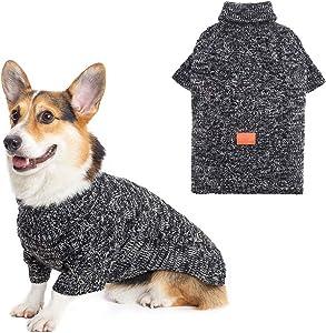 KOOLTAIL Dog Winter Clothes Fleece Sweater