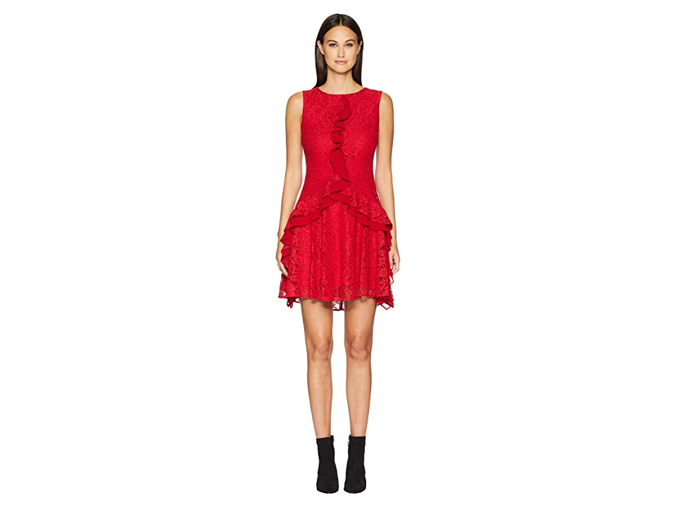 ZAC Zac Posen Aiden Dress (Red) Women
