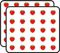 Strawberry Sticker for Scrapbooking, Calendars, Arts, Kids DIY Crafts, Album, Bullet Journals 50 Pack