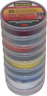 3M Scotch 35 Electrical Tape Rainbow Packs: 3/4 in. x 66 ft. (9-pack)