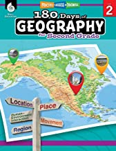 180 Days of Social Studies: Grade 2 - Daily Geography Workbook for Classroom and Home, Cool and Fun Practice, Elementary S...