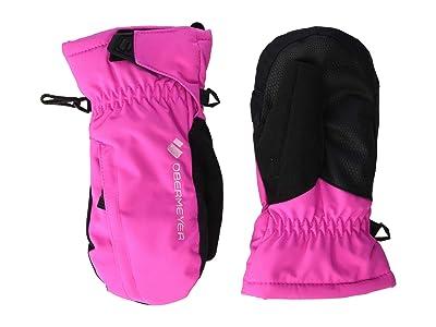 Obermeyer Kids Gauntlet Mitten (Little Kids/Big Kids) (Pink Power) Extreme Cold Weather Gloves