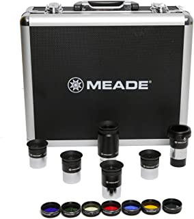Meade Instruments Series 4000 1.25-Inch Plossl Eyepiece and Filter Set - Silver