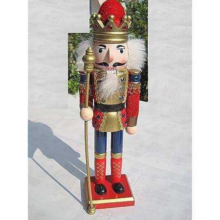 18 cm QLPXY Casse-Noisette Soldat Casse-Noisette Fait /à La Main pour La F/ête /à La Maison pour Enfants