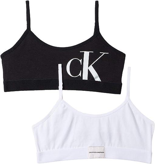 Classic White/Black