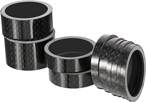 """WHEELS MANUFACTURING 1-1//8/"""" BLACK 5MM THICK BICYCLE HEADSET SPACER-SINGLE"""