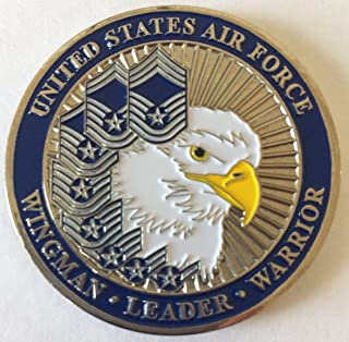 US Air Force Ranks Challenge Coin