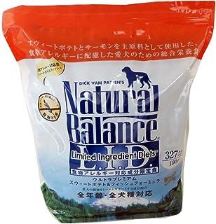 ナチュラルバランス スウィートポテト&フィッシュ (全犬種/全年齢対応) 5.45kg