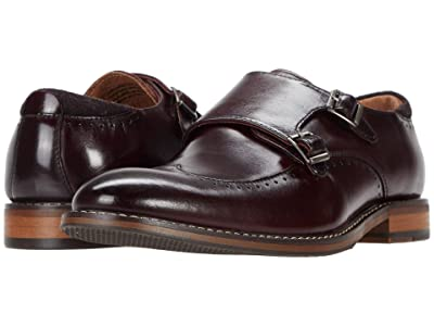 Stacy Adams Farwell Wing Tip Double Monk Strap