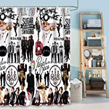 Sunshine ERosIon Shower Curtain Bathroom Curtains Water Resistant 72inch80inch Panic at The Disco.