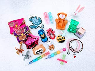 Advent Calendar Fillers / Stuffers Pack of 25 Small Toys, School Supplies, & Accessories for Advent Calendars, Stocking Stuffers