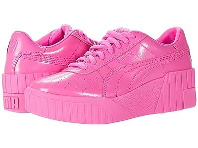 PUMA Cali Wedge PP (Luminous Pink/Metallic Pink) Women