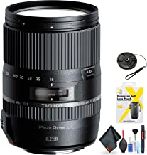 Tamron 16-300mm f/3.5-6.3 Di II VC PZD Macro Lens for Canon for Canon EF Mount + Accessories (International Model)