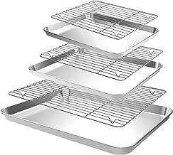 CEKEE Baking Sheet with Cooling Rack