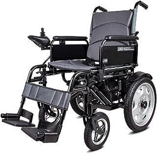 De Peso Ligero Plegable sillas de Ruedas eléctrica Silla de Ruedas eléctrica 320 2W 24V 20Ah por Li-Ion, más Larga Gama de conducción de Ruedas Eléctrica Seguro y fácil de Conducir, hasta 30 km