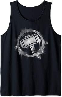 Marvel Avengers Endgame Thor Spray Paint Logo Tank Top
