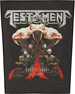 testament back patch