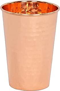 Premium Quality Hammered Copper Tumbler - 100% Pure Hammered Copper Tumbler for Moscow Mules