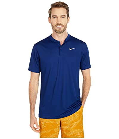 Nike Golf Dri-FIT Victory Blade Polo (Blue Void/White) Men