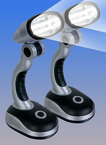 discount CORDLESS outlet online sale MULTIDIRECTIONAL LED LAMPS - SET OF popular 2 outlet sale