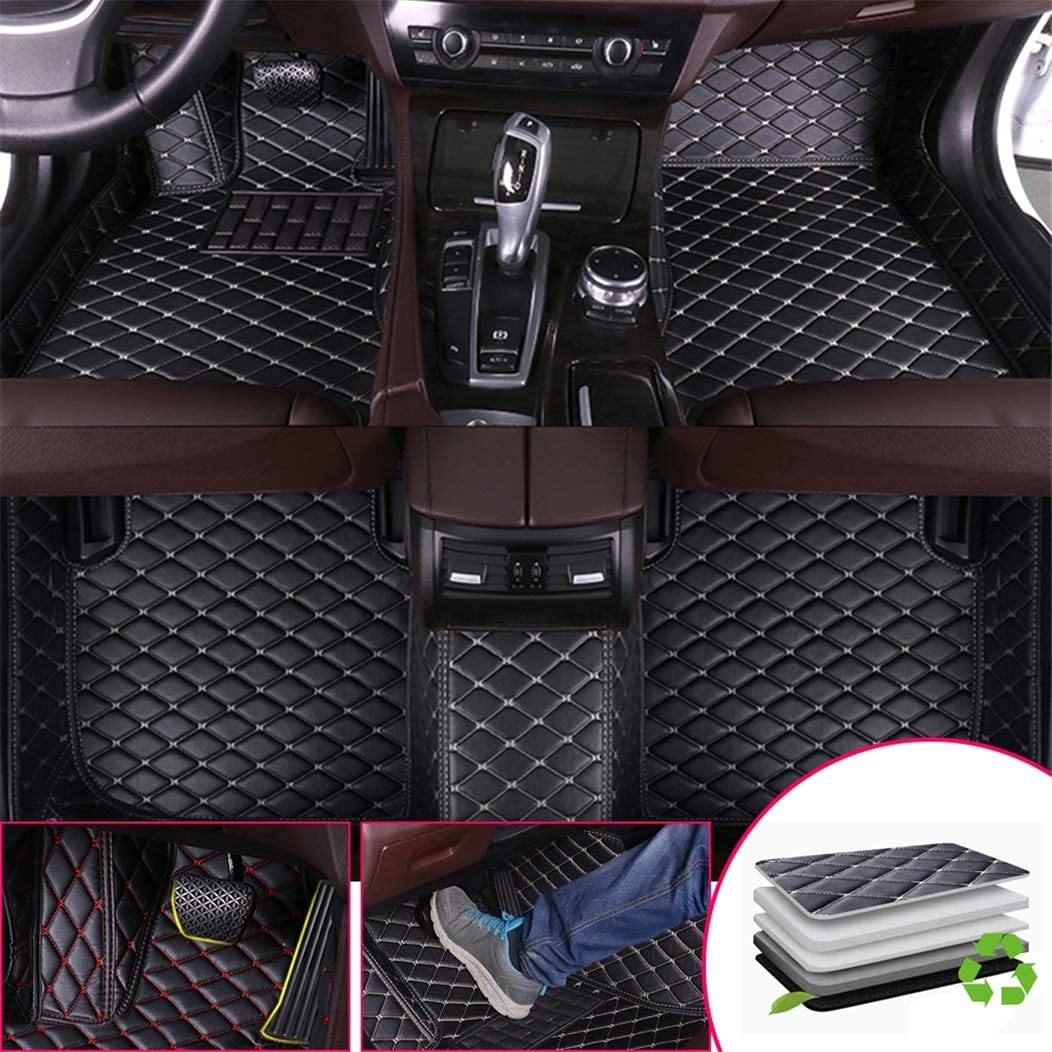 Custom Car Some reservation Floor Mats for Accord Max 63% OFF Generation 2008-20 Honda Eighth