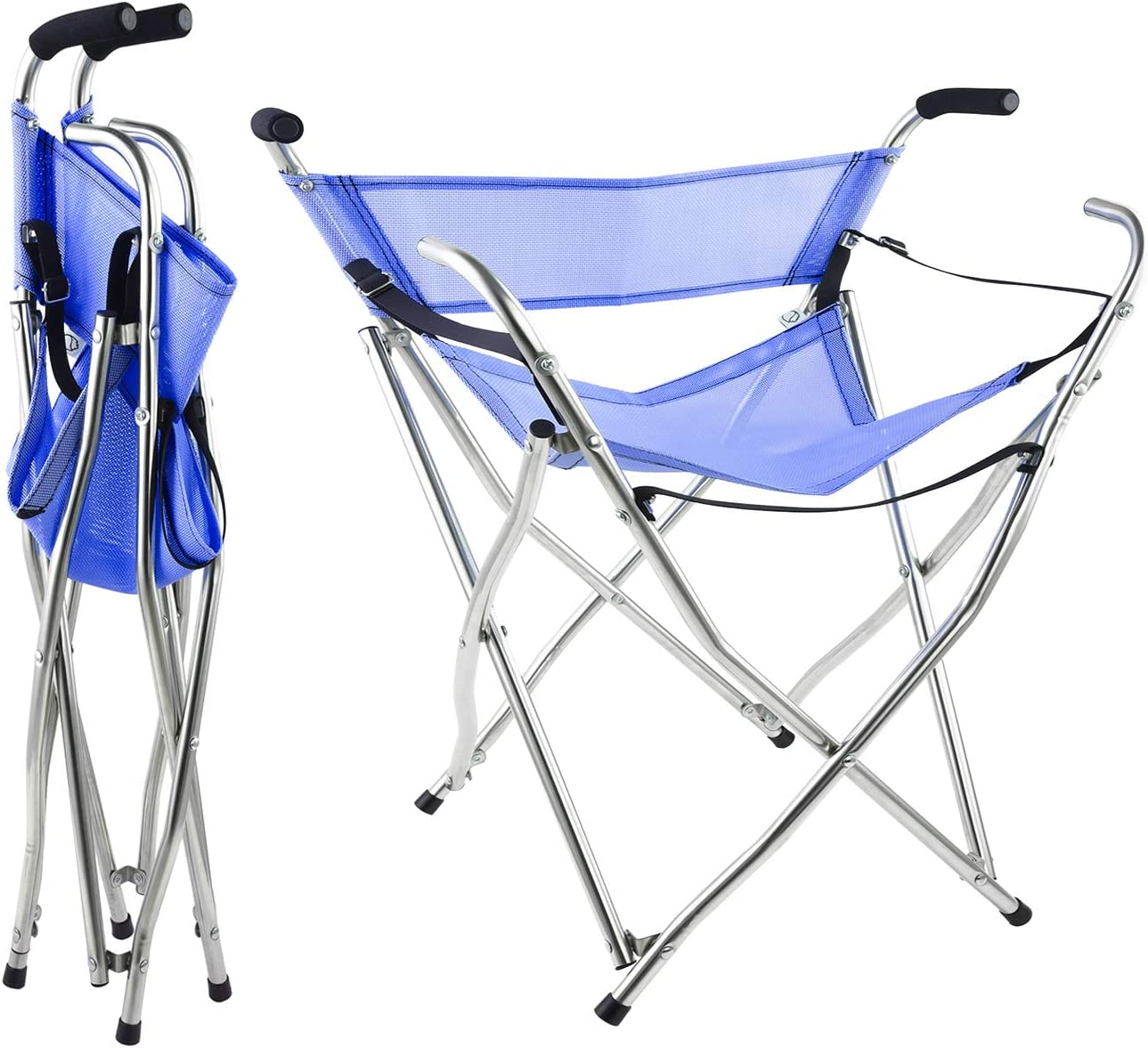 Freshore Canes and Walking Sticks Seat Super sale - 300lbs Clearance SALE! Limited time! Collapsible Spor
