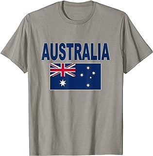 Australia Flag T-Shirt Cool Australian Aussie Flags Top Tee