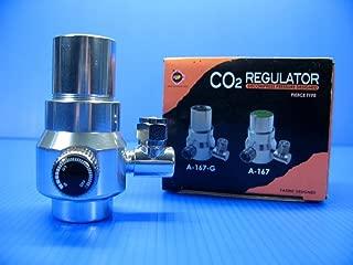 Aquarium Equip UP Aqua CO2 Regulator ONLY for Disposable 88g 95g co2 Cartridge Plant Tank 4/6mm Tube