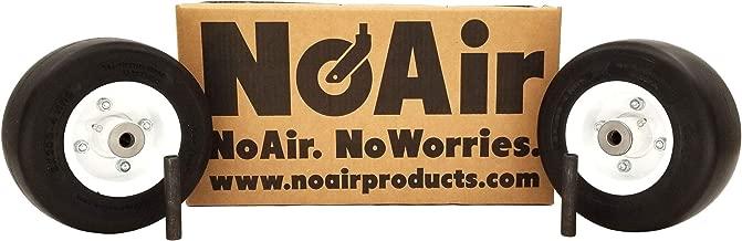 NoAir (2) Walker Flat Free Tire Assm 8x3.00-4 Replaces 8715-3, 5715-3, 5715-4, 4218