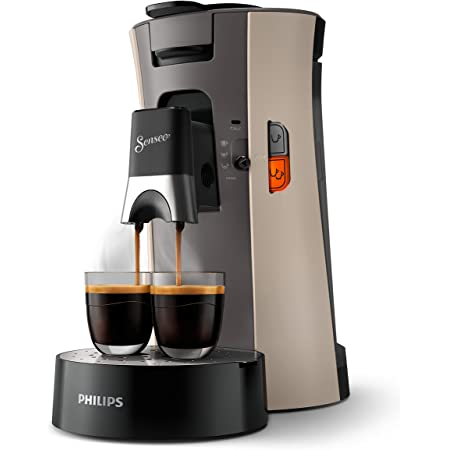 Senseo Machine à café à dosettes, fonction mémo, Intensity Plus